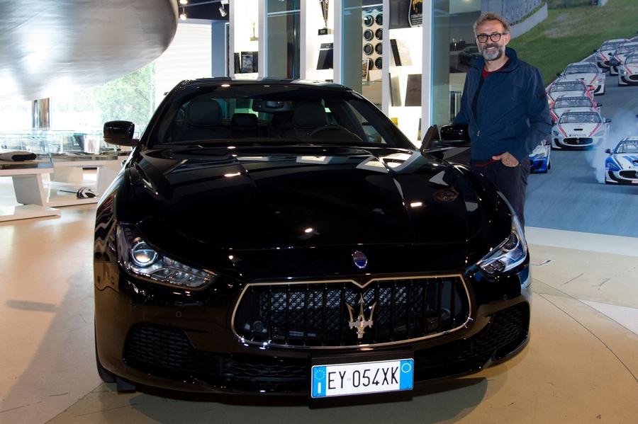 Massimo Bottura gets his new Maserati Ghibli S Q4