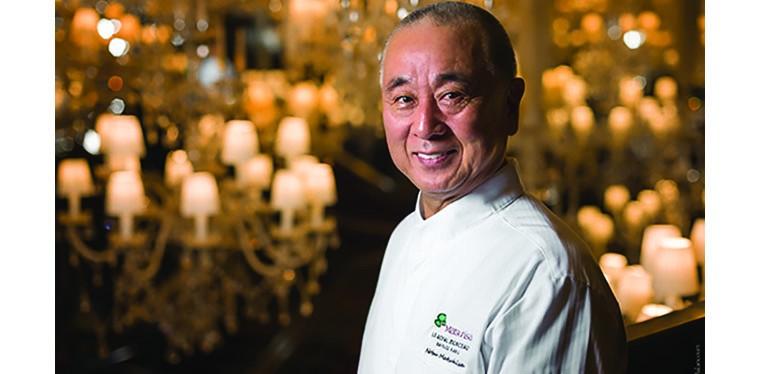Matsuhisa restaurant at Le Royal Monceau palace