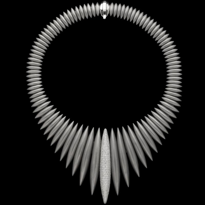 Mattia Cielo Ghiaccio 2016 - necklace