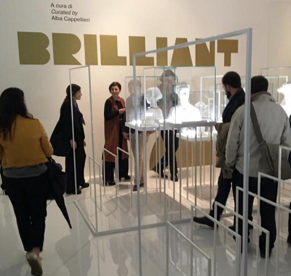 Mattia Cielo showcases his 'jewel of the future' at the XXI Triennale di Milano-2016 exhibition