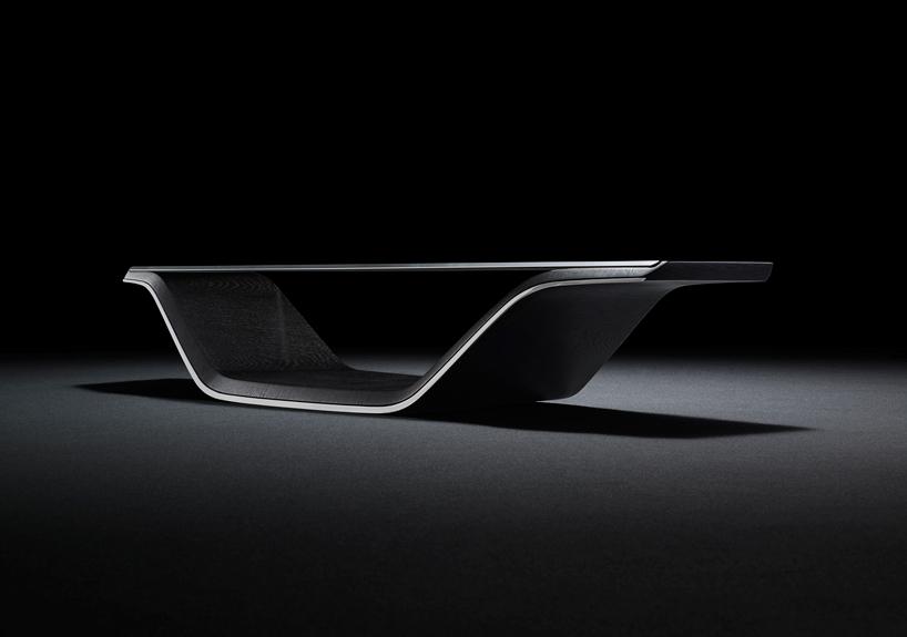 Mazda Kodo Design's bike and sofa at Milan Design Week 2015--