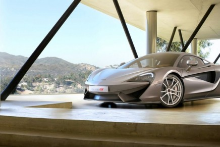 570S Coupé – the first model to be launched in McLaren Sports Series family