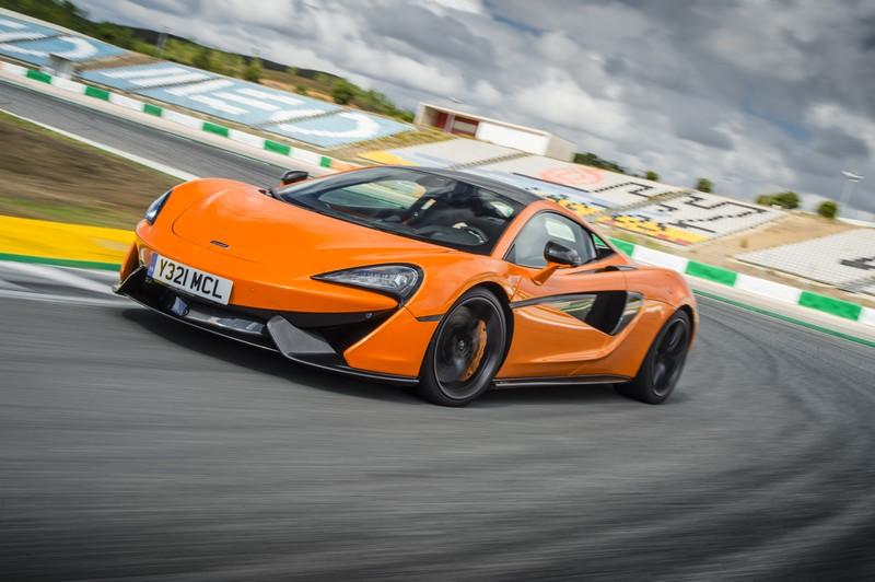 McLaren 570S Coupe Launch 2015 Portimao