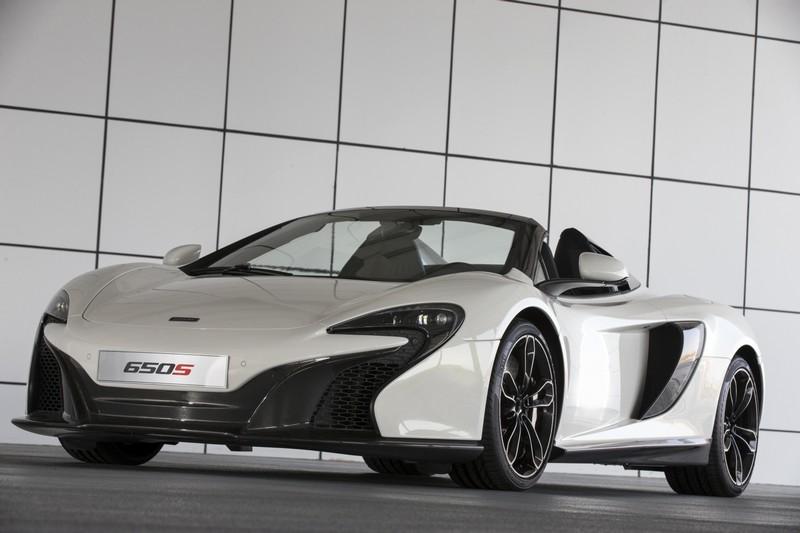 McLaren 650s - Sahara - roofdown