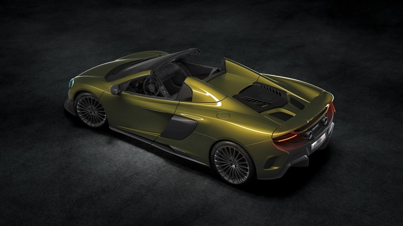 McLaren 675LT Spider is the most focused, fastest and exhilarating open top McLaren model ever built-