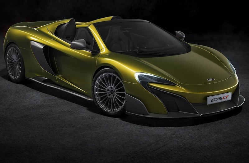 McLaren 675LT Spider is the most focused, fastest and exhilarating open top McLaren model ever built