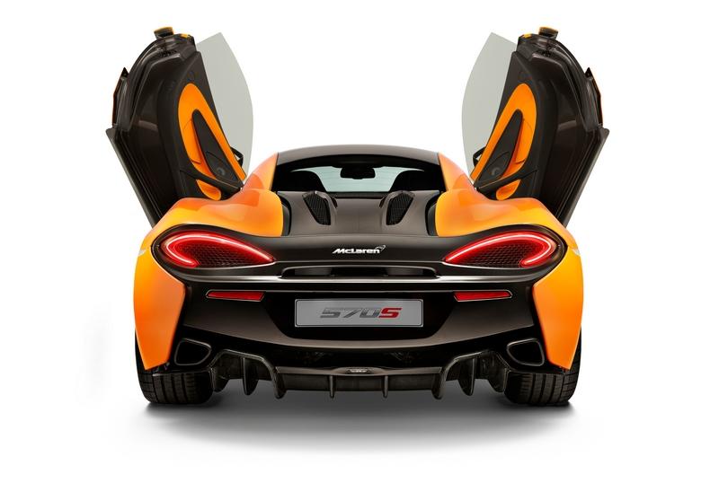 McLaren Sports Series - 570S Coupé debuts in New York 2015-