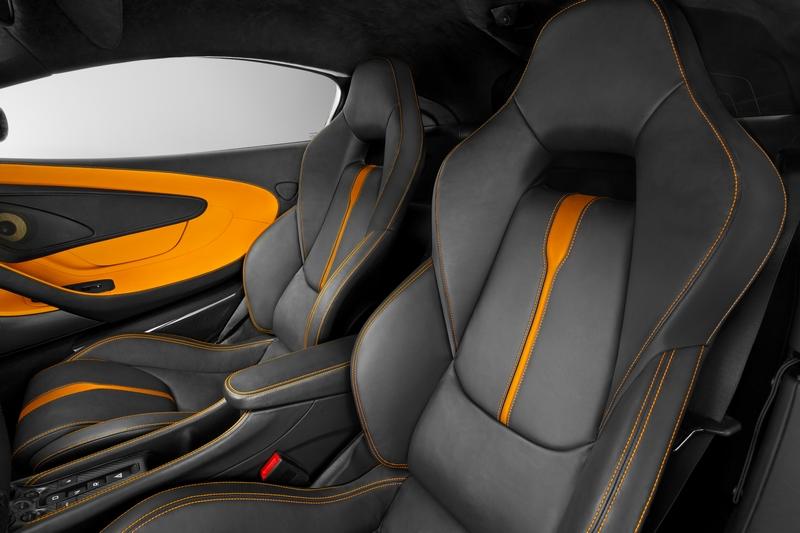 McLaren Sports Series - 570S Coupé debuts in New York 2015-interior