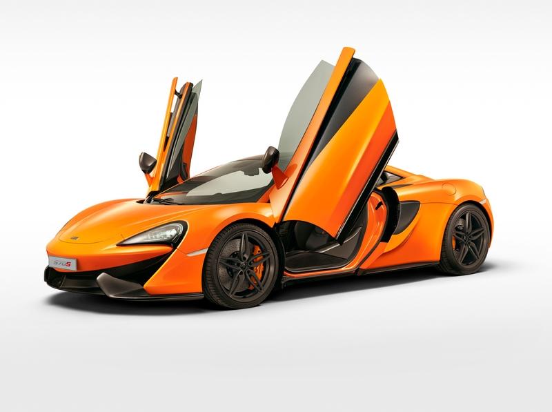 McLaren Sports Series - 570S Coupé debuts in New York