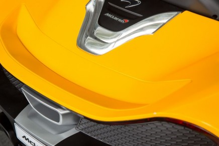 The latest McLaren P1 is Pure Electric. The car is available forthose under the age of six