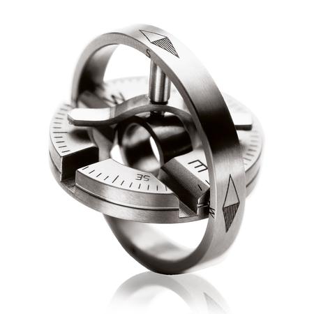 Meister Compass in pure titanium