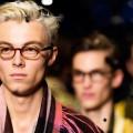 Menswear Burberry Fall Winter 2015 - Distinctive shapes - new Scholar Eyewear for A W15