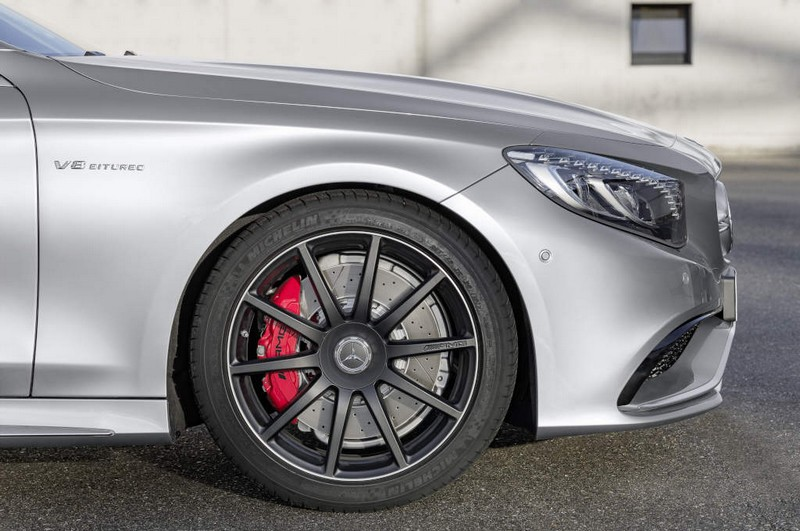 Mercedes-AMG S 65 4Matic Cabriolet - Brake calipers painted red