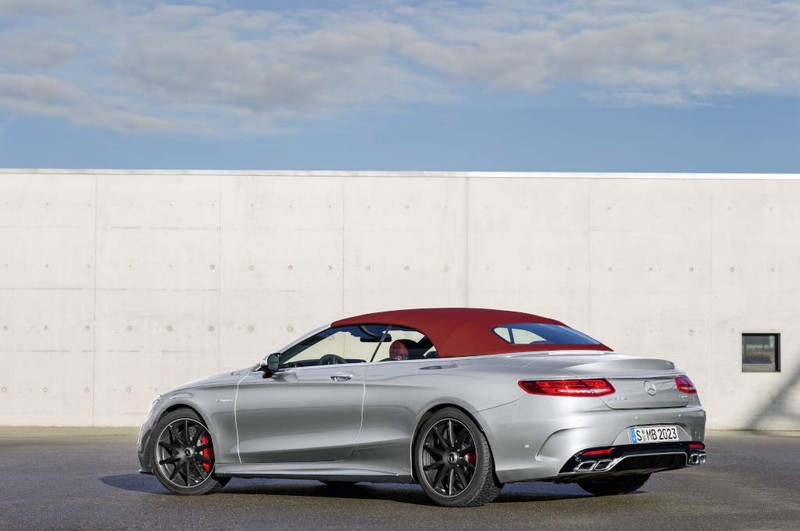Mercedes-AMG S 65 4Matic Cabriolet - bengal redtop