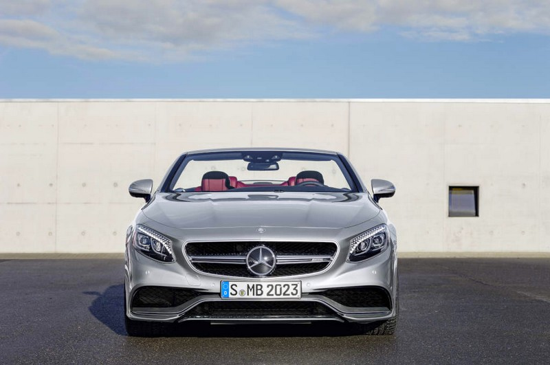 Mercedes-AMG S 65 4Matic Cabriolet -front