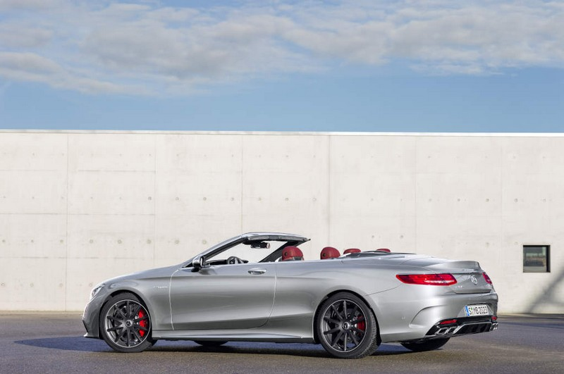 Mercedes-AMG S 65 4Matic Cabriolet - high-gloss special colour alubeam silver paint