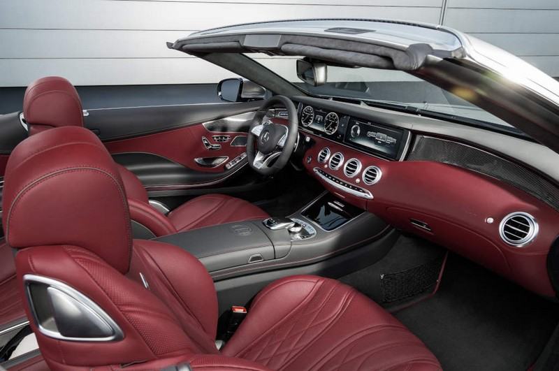 Mercedes-AMG S 65 Cabriolet - bengal red interior