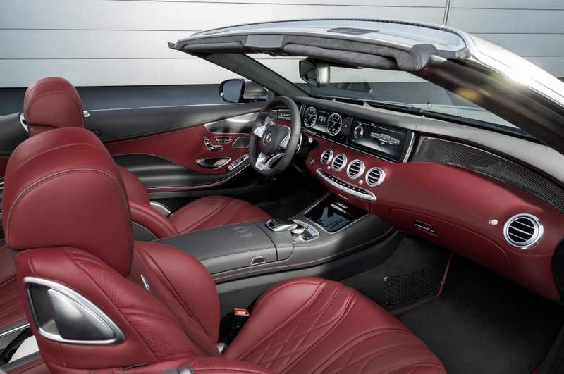 Mercedes-AMG S 65 Cabriolet - bengal red interior