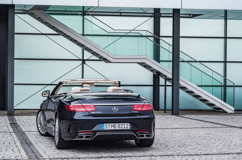 Mercedes-AMG S 65 Cabriolet- rear