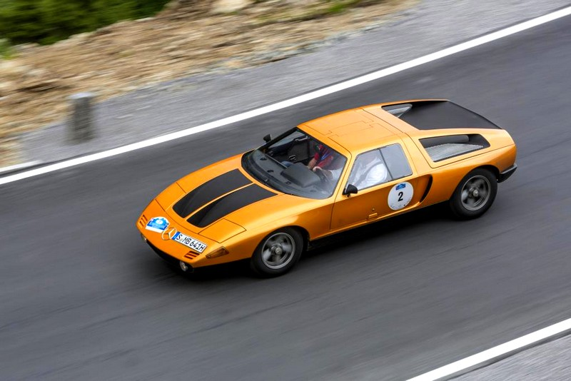 Mercedes-Benz C 111 research vehicle dating from 1970