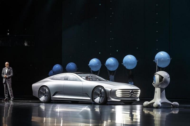 Mercedes-Benz IAA concept 2015-Frankfurt presentation