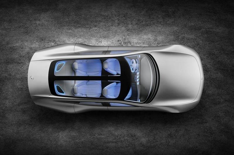 Mercedes-Benz IAA concept 2015-aerial
