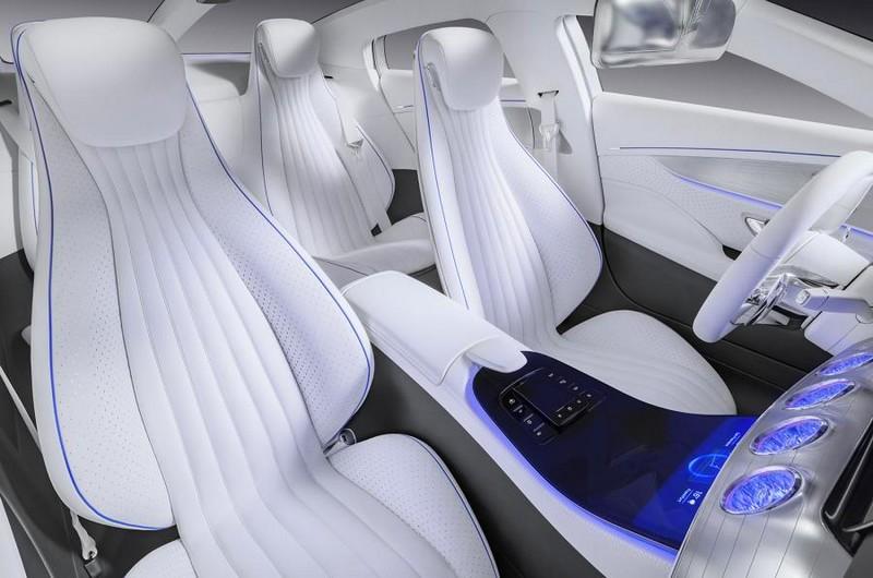 Mercedes-Benz IAA concept 2015-interior