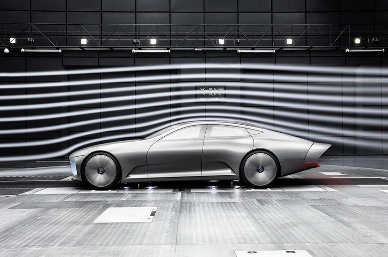 Mercedes-Benz IAA concept 2015-wind tunnel