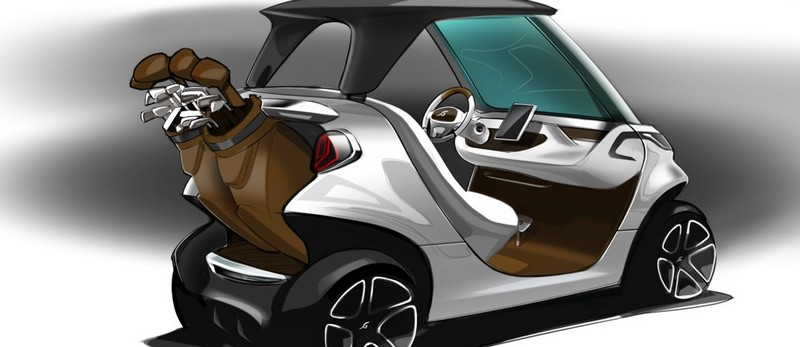 Mercedes-Benz Style Edition Garia Golf Car-003