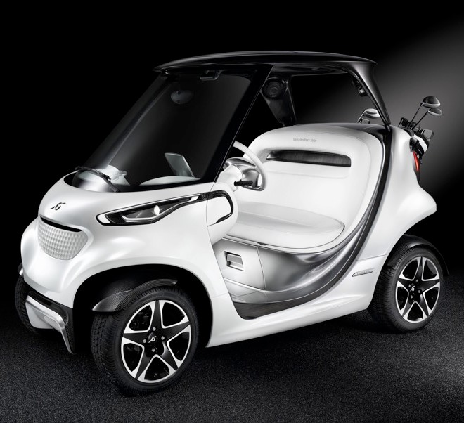 Mercedes-Benz Style Edition Garia Golf Car-004