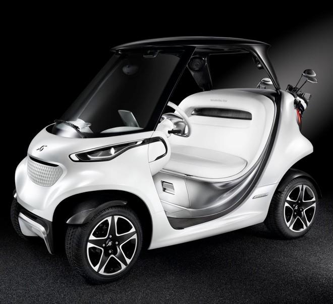 Mercedes-Benz Style Edition Garia Golf Car-004