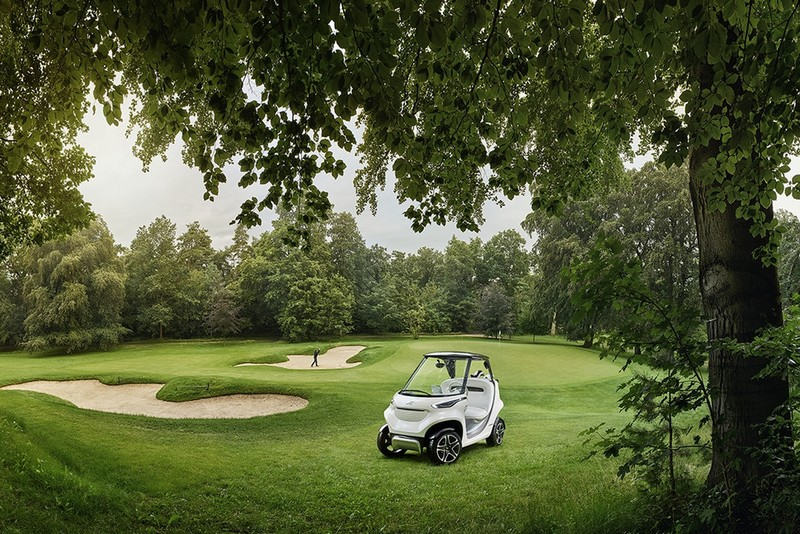 Mercedes-Benz Style Edition Garia Golf Car-005