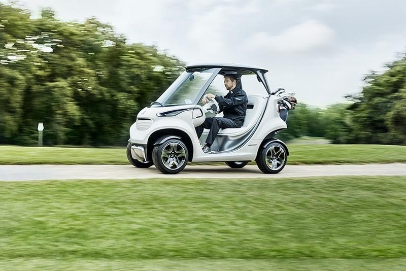 Mercedes-Benz Style Edition Garia Golf Car-006
