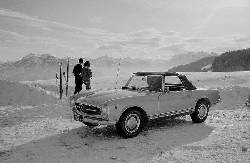 Mercedes-Benz Classic bei der Arlberg Classic Car Rally