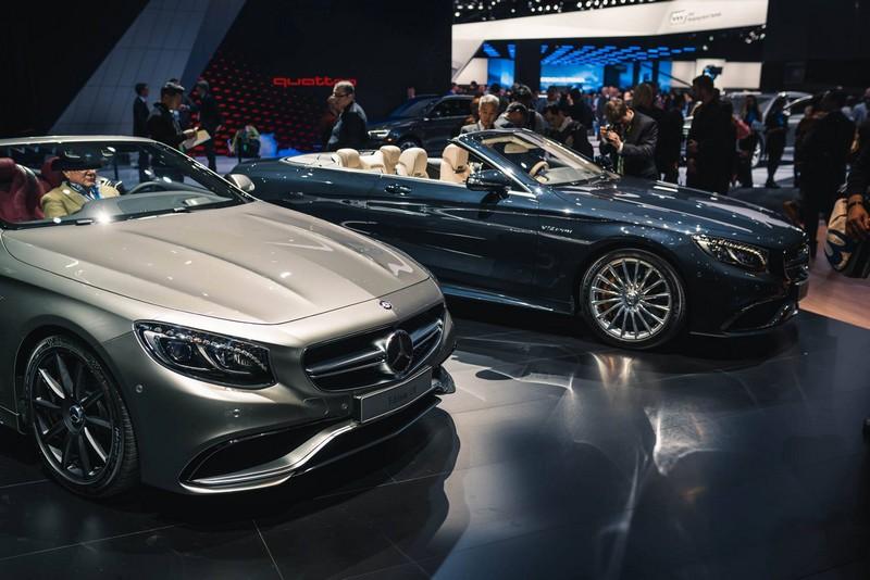Mercedes Benz at NAIAS 2016-new cars