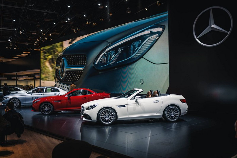 Mercedes Benz at NAIAS 2016- new world premieres