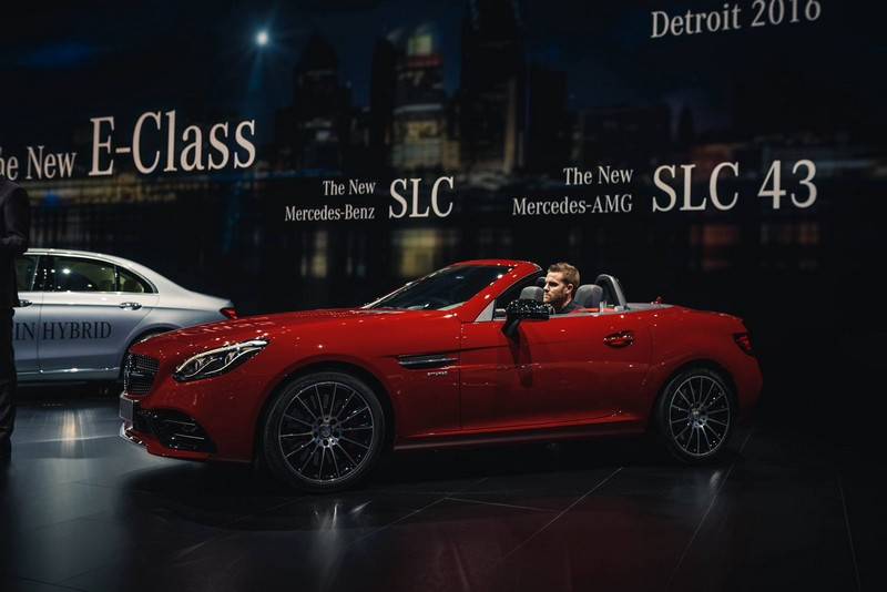 Mercedes Benz at NAIAS 2016