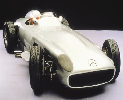 Mercedes-Benz racing car W 196 R, 1955