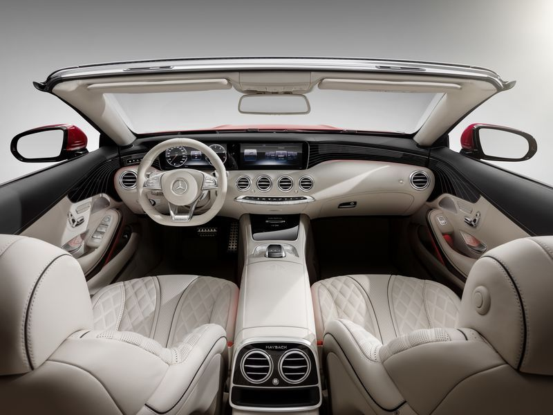 Auf 300 Exemplare limitiert: Neues Mercedes-Maybach S 650 Cabriolet: Ultimative Open-Air-Exklusivität