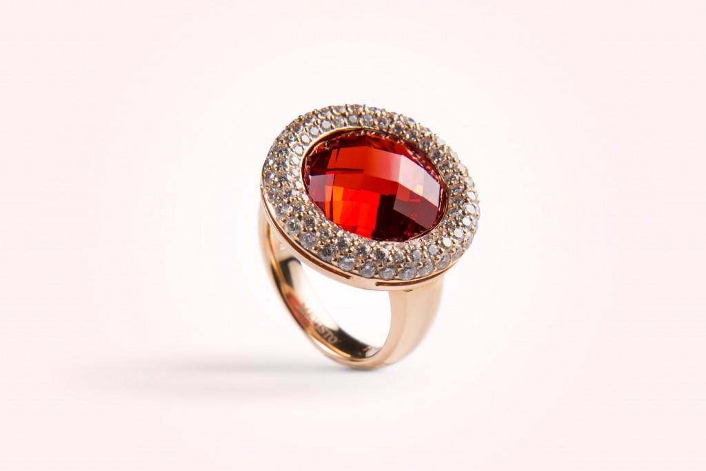 Mevisto stones - ring-rosegold-kinglouis