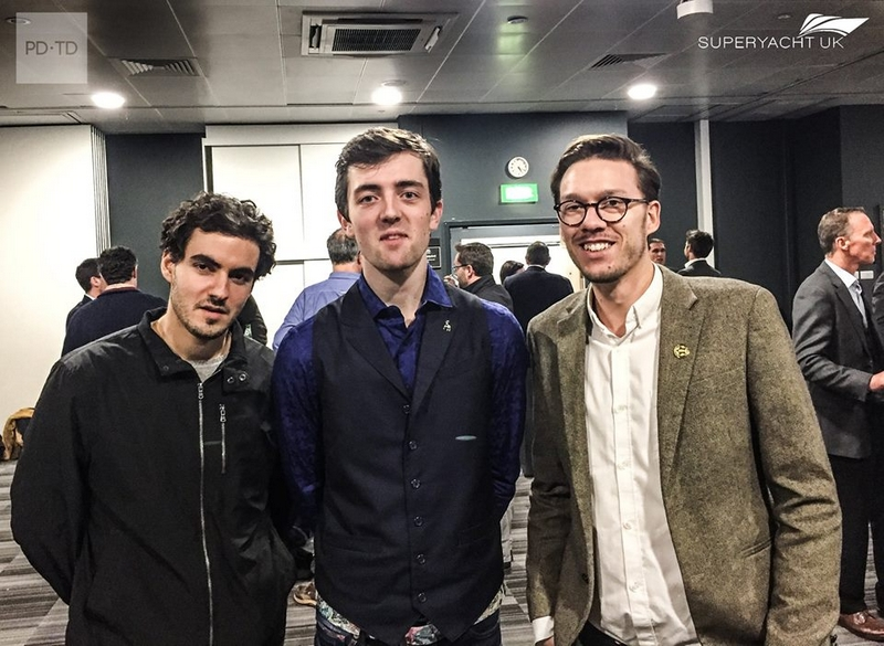Michael Hollier and Christopher Karam - winners Superyacht UK Young Designer Competition 2017