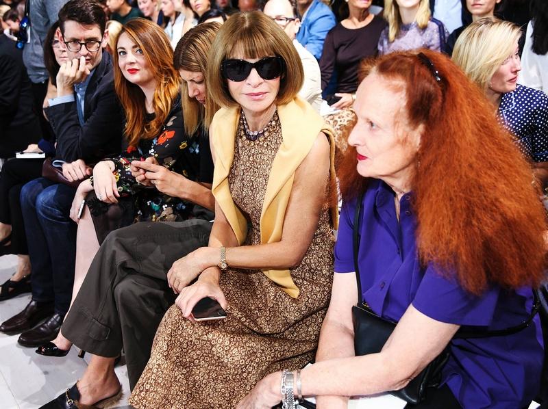 Michael Kors Spring Summer 2016 show New York Fashion Week catwalk backstage-front row