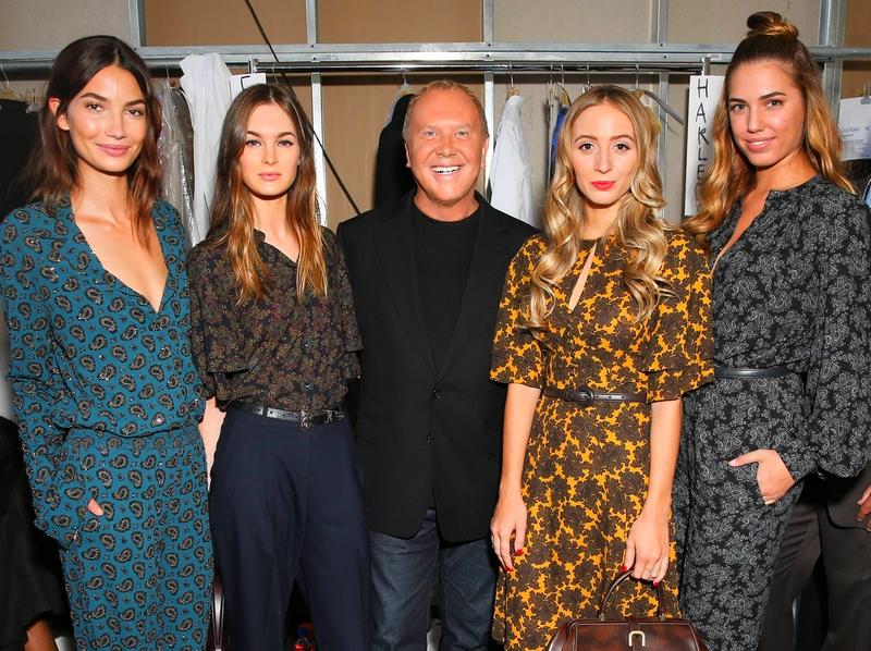 Michael Kors Spring Summer 2016 show New York Fashion Week catwalk backstage