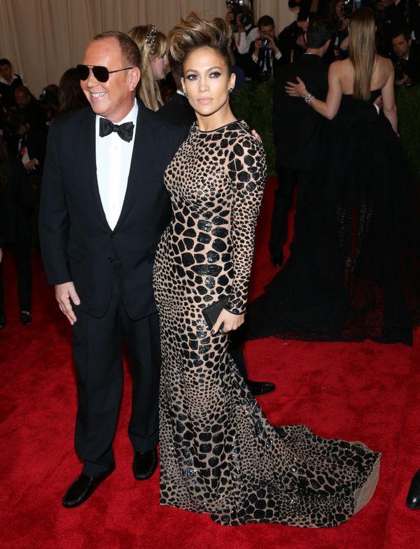 Michael Kors and Jennifer Lopez