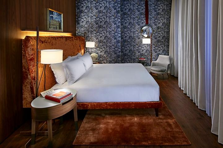 Milano Suite - Milano Suite Piero Fornasetti Mandarin Oriental Mandarin Oriental Milan-bedroom