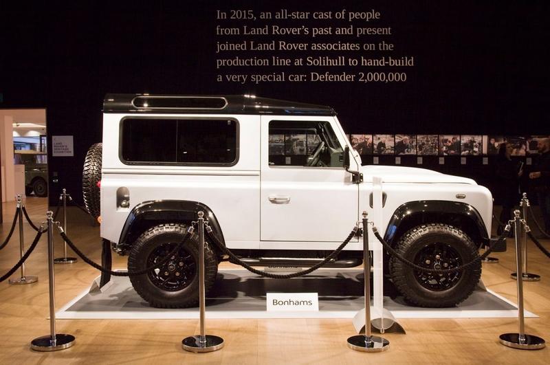 Milestone 'Defender 2,000,000' auction at Bonhams