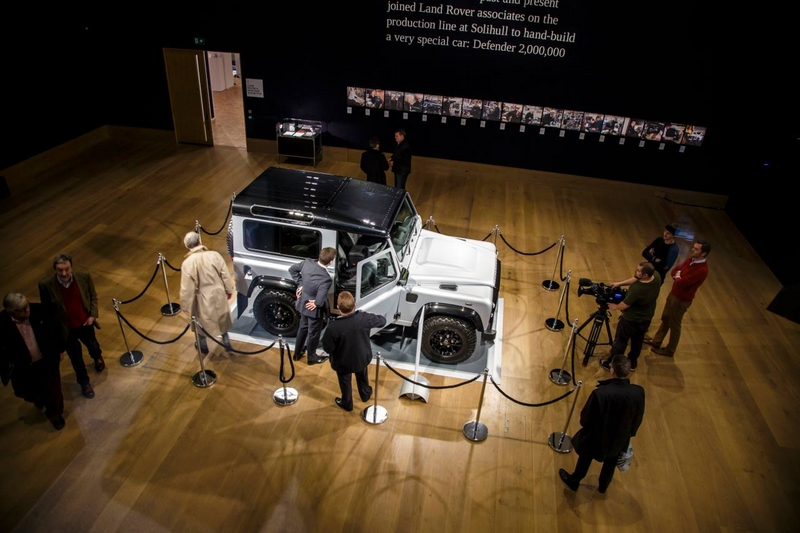 Milestone 'Defender 2,000,000' is the most valuable production Land Rover ever to be sold at auction-