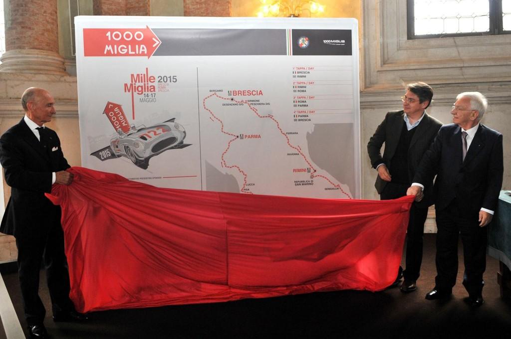 Mille Miglia 2015 - press conference