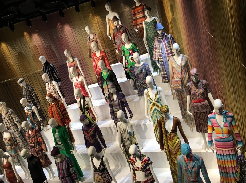 Missoni Art Colour at the Fashion and Textile Museum 2016 expo-