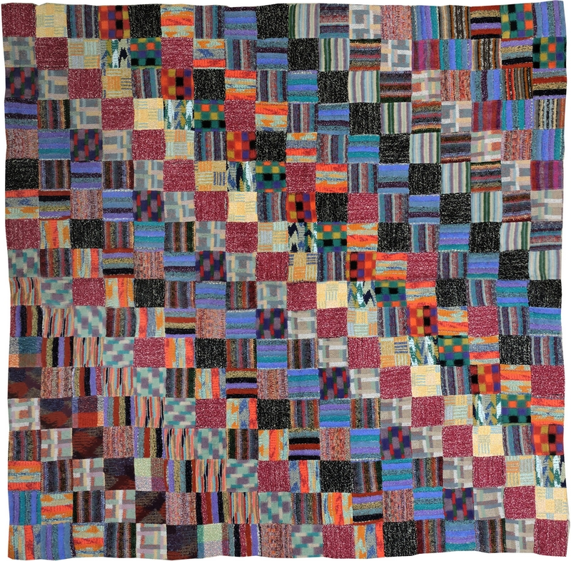 Missoni Art Colour at the Fashion and Textile Museum_missoni-arazzo-207x204